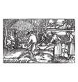 historia mundi naturalis is a print that was vector image vector image