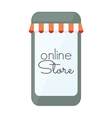 internet store mobilni3 vector image vector image