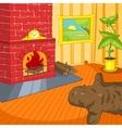 Room Cartoon vector image
