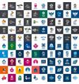 set payment logos vector image