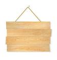 Wooden Board vector image vector image