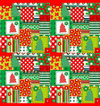 wrapping paper for your christmas vector image