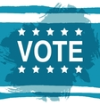 Vote Election day poster 2016 USA vector image