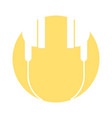 Audio earphones isolated icon