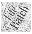 automating things with batch files word cloud
