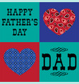 Bandana heart fathers day