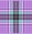 blue tartan plaid bacolor seamless pattern vector image