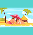 body positive background vector image vector image