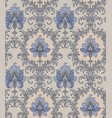 cornflowers vintage pattern vector image