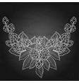 graphic hop vignette vector image vector image