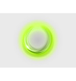 neon light soft green vector image