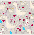Birthday seamless pattern cute greeting