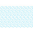 blue random dots on white background seamless vector image vector image