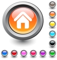 Home round button vector | Price: 1 Credit (USD $1)