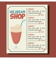 ice cream shop isolated icon vector image