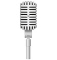 microphone 01 vector image vector image