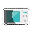 oven microwave kitchen appliance isolated icon vector image