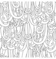 ringlets background vector image