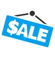 Sale Signboard Flat Icon vector image