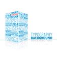 typography 3d element