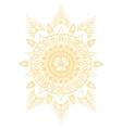 chakra manipura vector image vector image