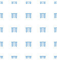 nightstand icon pattern seamless white background vector image vector image