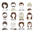 Set - avatars vector image vector image