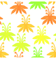 Tribal seamless pattern with treesSeamless Floral vector image vector image