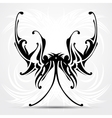 Maori styled tattoo patterns fit for top or bottom vector image