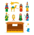 Nativity Collection vector image