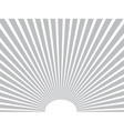background Sun rays Gray Eps 10 vector image