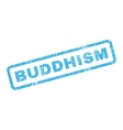 Buddhism Rubber Stamp vector image vector image