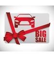 Car Sale design vector image