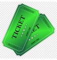 entry ticket vector image vector image