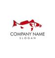redfish design vector image