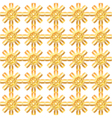 seamless gold lattice vector image vector image