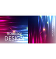 set of abstract technology web banner vector image vector image