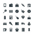 Shopping Cool Icons 2 vector image vector image