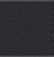 black line geometry seamless pattern vector image
