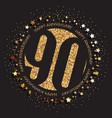 90th birthday logo