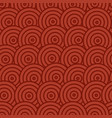 asian seamless pattern with circles image vector image