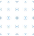 disc and music note icon pattern seamless white vector image vector image