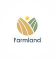 farmland logo vector image vector image
