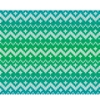 Green knitted Scandinavian ornament seamless vector image