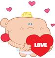 Holiday baby cartoon vector image