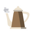 hot kettle icon image vector image vector image