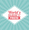 best friend design vector image