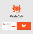 business logo template for design designer vector image vector image