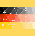 germany flag concept vector image vector image