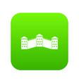 great wall of china icon digital green vector image vector image